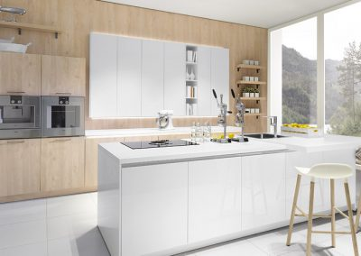 GLOSS SUPER WHITE / NORDIC WOOD NATURAL