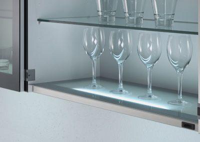 Underlit Cabinets